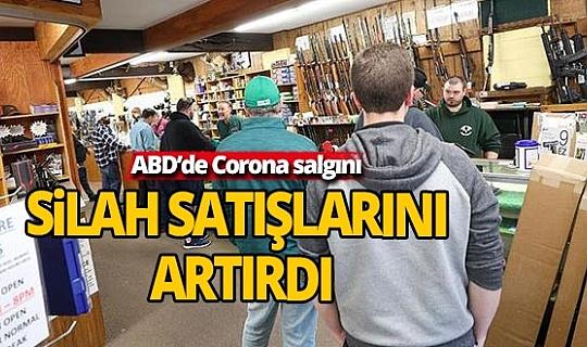 Corona salgını silah satışlarını artırdı
