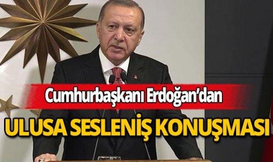 """Cumhurbaşkanı Erdoğan: """"Milli dayanışma kampanyası başlatıyoruz"""""""