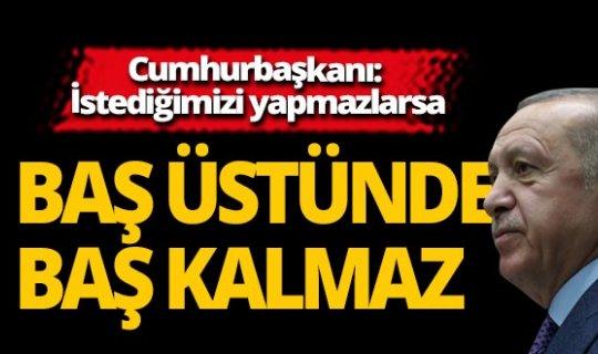 Cumhurbaşkanı Erdoğan: Bu bir başlangıç