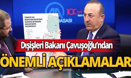 Dışişleri Bakanı Çavuşoğlu: Rejim ateşkese rağmen ilerlemeye çalışırsa...