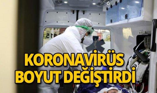 DSÖ duyurdu: Koronavirüs boyut değiştirdi