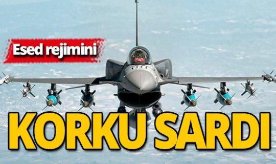 Esed rejimi pilotlarını F16 korkusu sardı