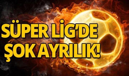 Farklı yenilgi sonrası Süper Lig'de şok ayrılık!