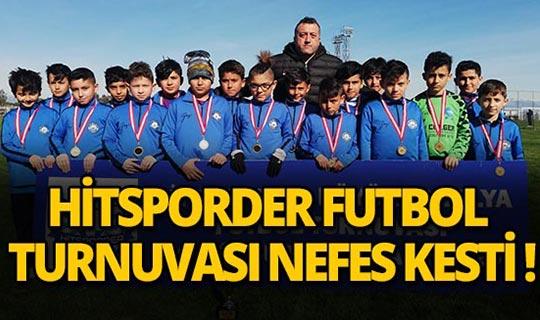 Hitsporder Büyük Antalya Futbol Turnuvası'na Yoğun İlgi