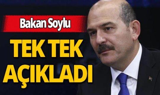 """İçişleri Bakanı Süleyman Soylu: """"Emniyette 30, jandarmada 18, 4 kaymakam ve bir valinin korona virüs testi pozitif çıktı"""""""