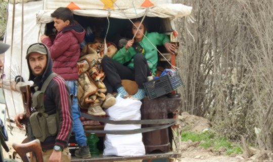 İdlibliler ateşkesin ardından dönüşe geçti