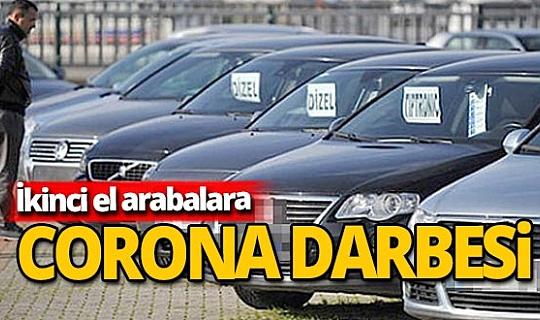 İkinci el arabalara Corona darbesi...