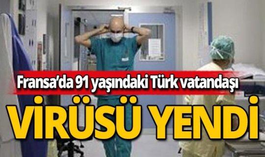 İngiltere'de yaşayan 91 yaşındaki Türk korona virüsünü yendi