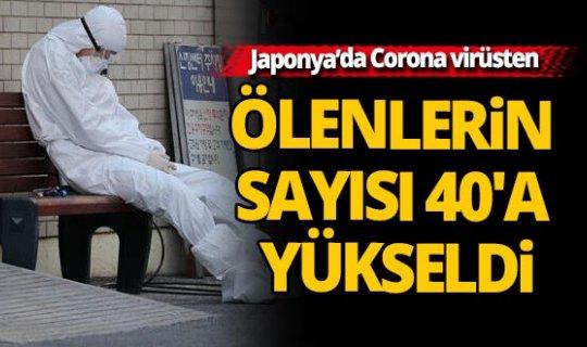 Japonya'da Korona virüsten ölenlerin sayısı 40'a yükseldi