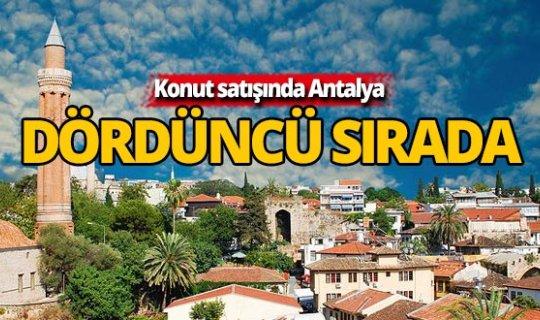 Konut satışlarında Antalya 4.'üncü oldu
