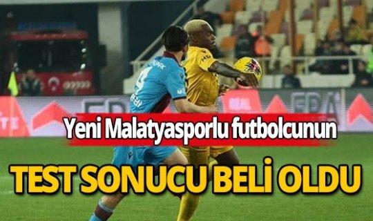 Koronavirüs şüphesi bulunanYeni Malatyasporlu futbolcunun test sonucu belli oldu
