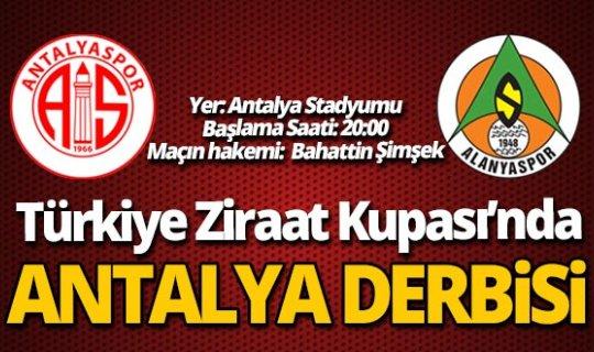 Kupa'da Antalya Derbisi