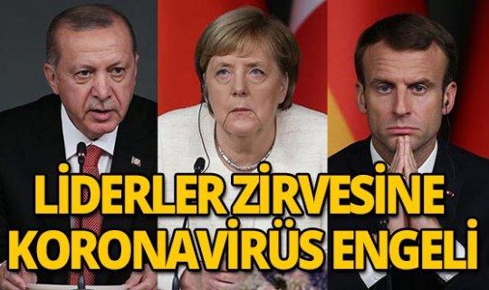 Liderler zirvesine koronavirüs engeli