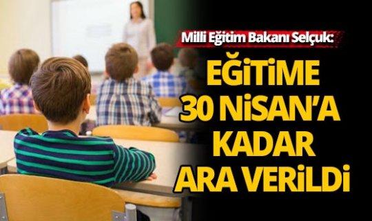 Okullar 36 gün sonra açılacak