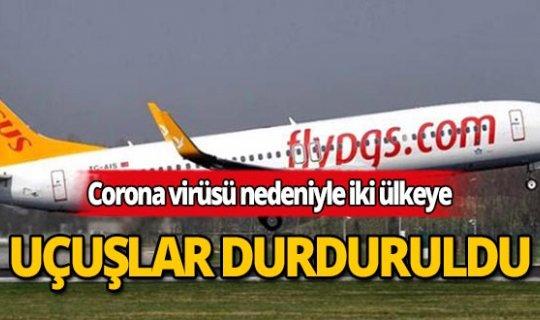 Pegasus Havayolları'ndan Corona virüsü önlemi!