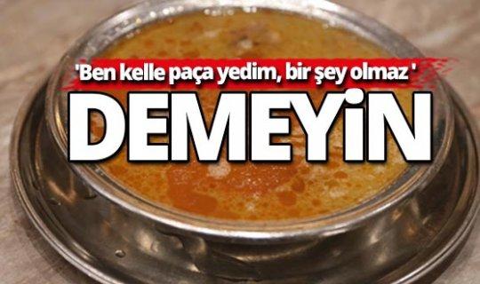 Türkiye Kasaplar Federasyonu'ndan çorba uyarısı