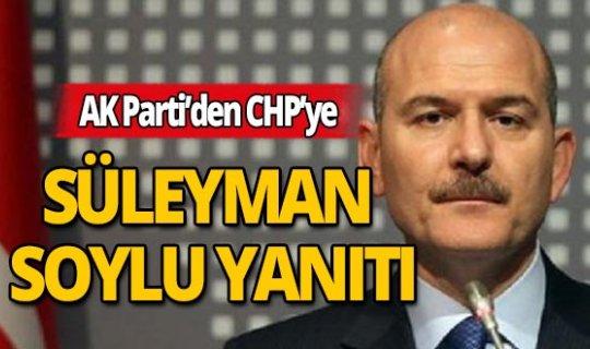 AK Parti Sözcüsü Ömer Çelik'ten CHP'ye Süleyman Soylu Yanıtı!