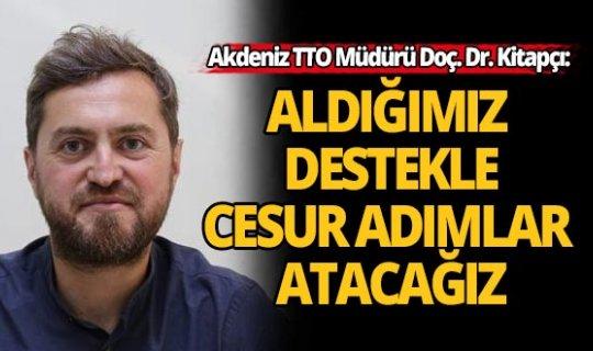 Akdeniz TTO'a TÜBİTAK destek verecek