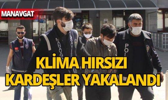 Antalya'da hırsızlar lojmanda klima bırakmadı