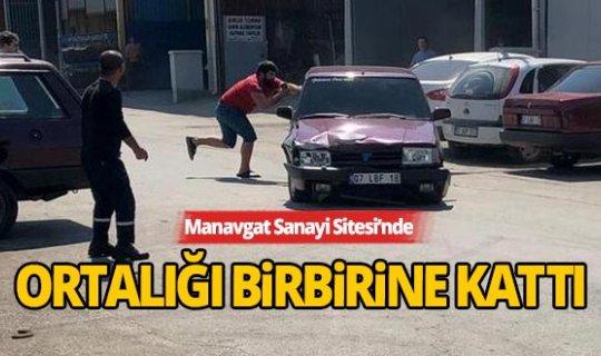 Antalya'da park halindeki araçlara çarpıp kaçtı