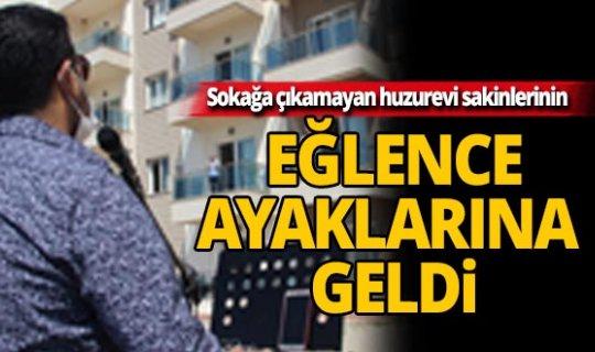 Antalya'daki huzurevi sakinlerine moral konseri