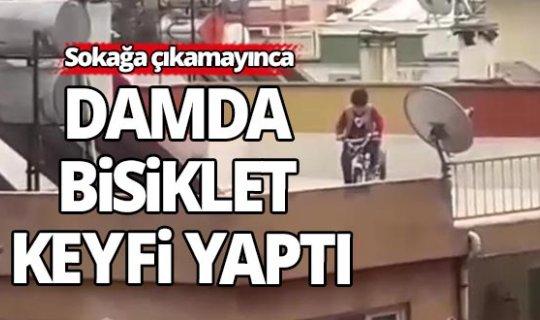 Antalya damda bisiklet keyfi