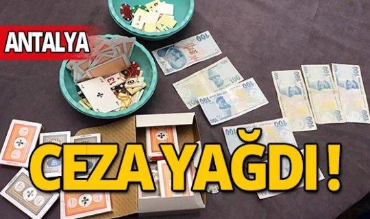 Antalya'da jandarmadan kumar baskını