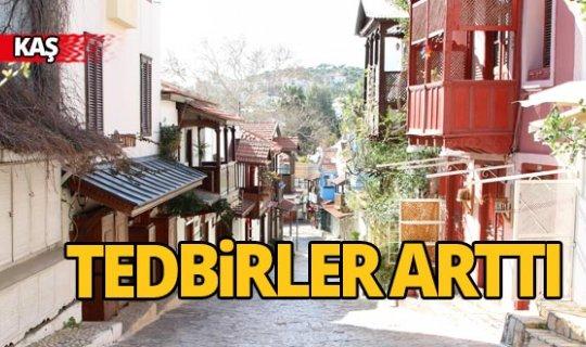 Antalya Kaş'ta tedbirler artırıldı