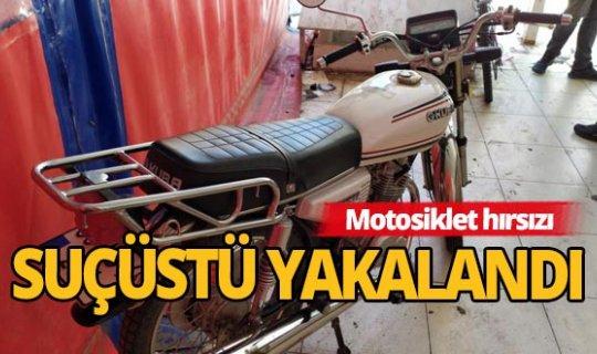 Antalya'da motosiklet hırsızı yakalandı