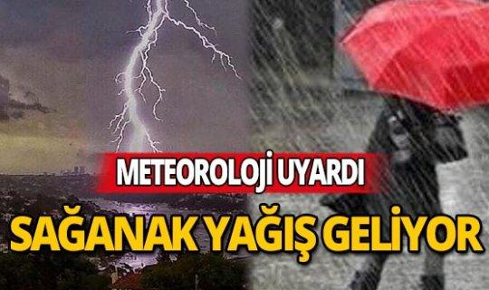 Antalyalılar gök gürültülü sağanak yağışa dikkat!