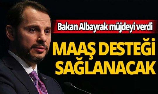 Bakan Berat Albayrak ücretsiz izne çıkarılan vatandaşlara ne kadar ödeneceğini açıkladı!