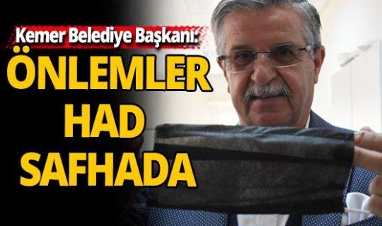 """Başkan Topaloğlu; """"Kemer'de biz bize yeteriz"""""""