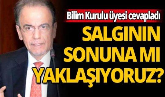 Bilim Kurulu üyesi Prof. Dr. Mehmet Ceyhan, koronavirüste son rakamları değerlendirdi