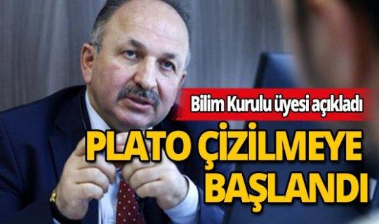 Bilim Kurulu Üyesi Prof. Dr. Recep Öztürk: Türkiye, koronavirüs vaka sayısında plato çizmeye başlamıştır