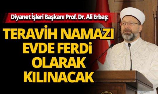 Diyanet İşleri Başkanı Erbaş: Ramazan öncesi kan bağışı yapın