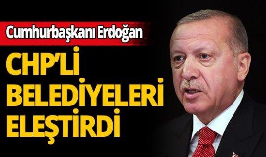 """Cumhurbaşkanı Erdoğan: """"Bu tür faaliyetlerin amacı halka hizmet vermek değil, şov yapmaktır"""""""