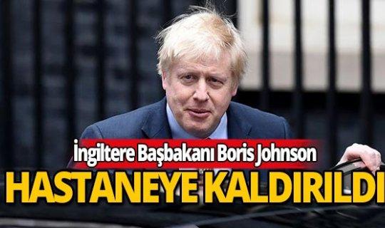 İngiltere Başbakanı Boris Johnson koronavirüs nedeniyle hastaneye kaldırıldı