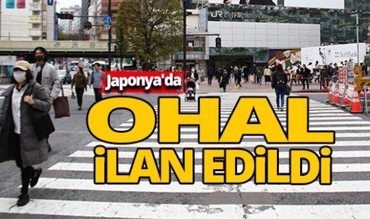 Japonya'da OHAL ilan edildi
