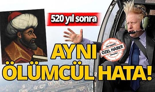 Osmanlı torunu da Osmanlı'nın yanlışını tekrarladı
