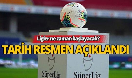 Süper Lig için tarih resmen açıklandı!