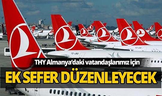 THY, Almanya'daki Türk vatandaşları için özel seferler yapacak