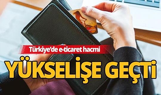 Türkiye'de e-ticaret hacmi 83,1 milyar TL'ye ulaştı