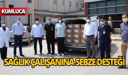 Üretici Kooperatifinden sağlık çalışanlarına destek