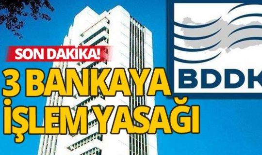3 yabancı bankaya işlem yasağı geldi