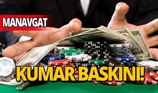 Antalya'da kumar baskınına 44 bin lira ceza