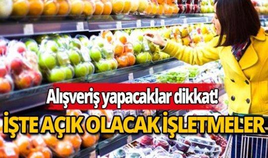 Antalya'da sokağa çıkma yasağı boyunca hangi işletmeler açık olacak?