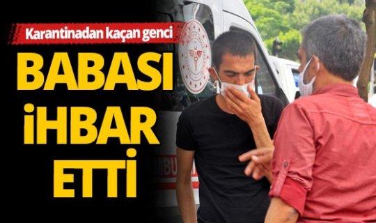 Antalya'da Zeytinköy'den kaçtı, babasından kaçamadı