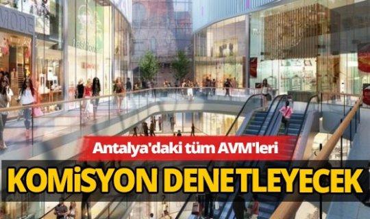 Antalya İl Umumi Hıfzıssıhha Kurulu AVM'ler ile ilgili tedbir kararlarını açıkladı