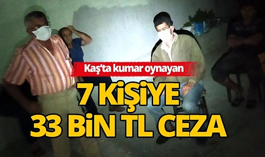 Antalya'da kumar baskını!
