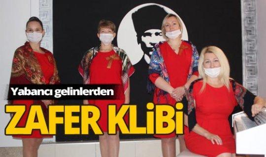 Antalya'nın yabancı gelinlerinden 9 Mayıs Zafer Günü klibi